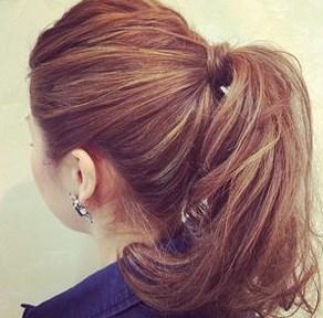 モテる髪型 ポニーテール2