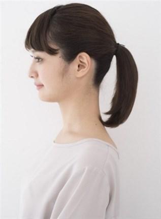 モテる髪型 ポニーテール4