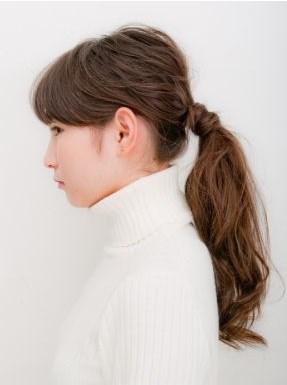 モテる髪型 ポニーテール