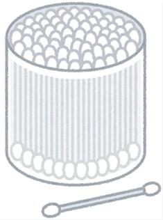 毛穴の角栓の取り方~綿棒で顔の毛穴をなくす方法